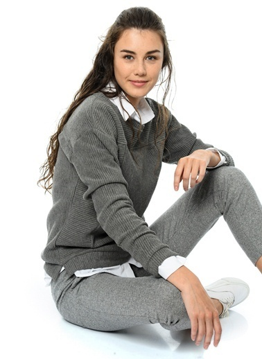 Ichi Sweatshirt Gri